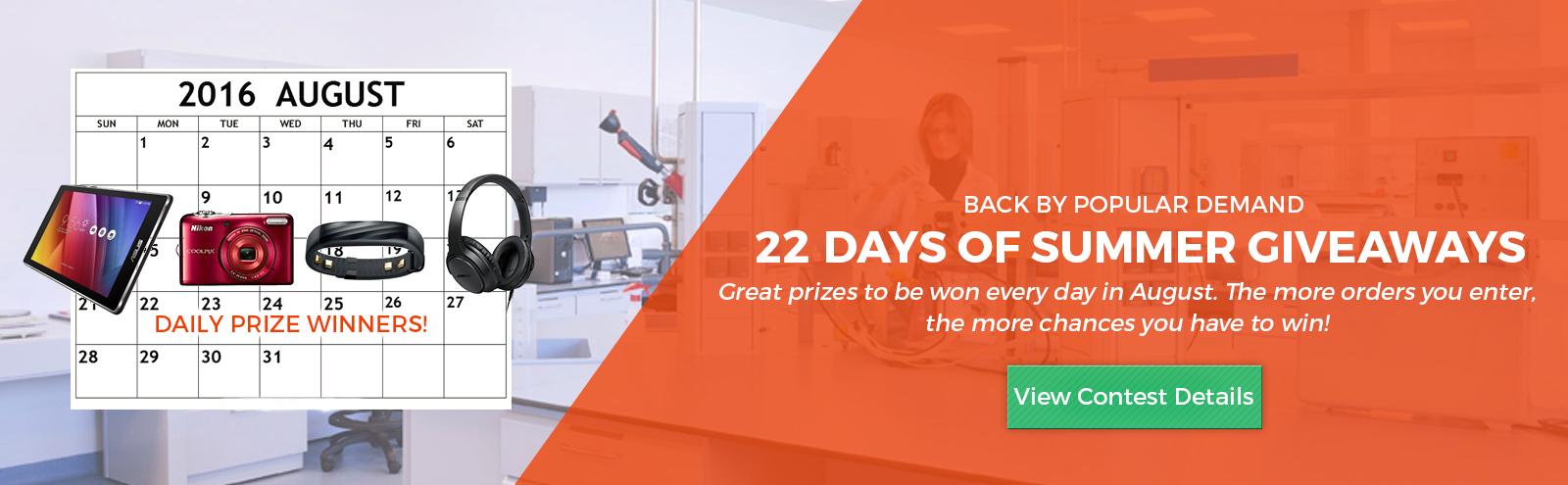 22 Days of Summer Giveaways