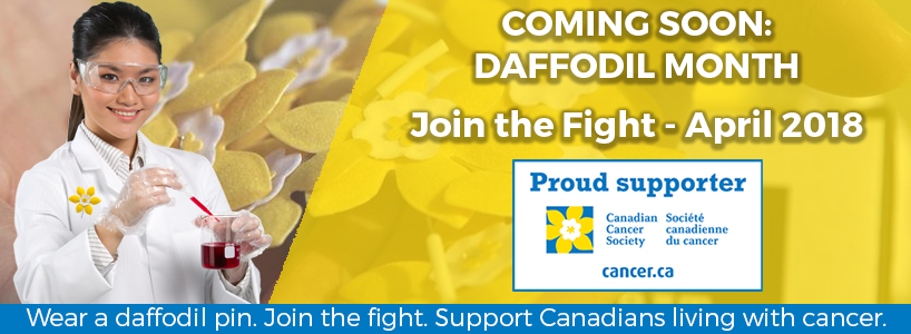 Cedarlane and Canadian Cancer Society Daffodil Month