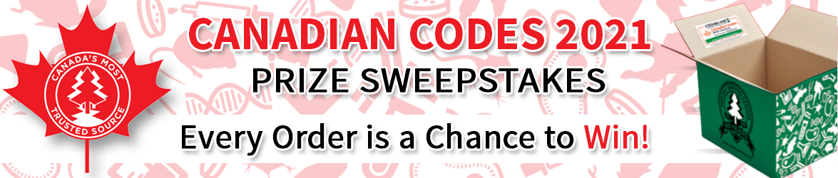 Cedarlane Canadian Codes Prize Sweepstakes, 2021