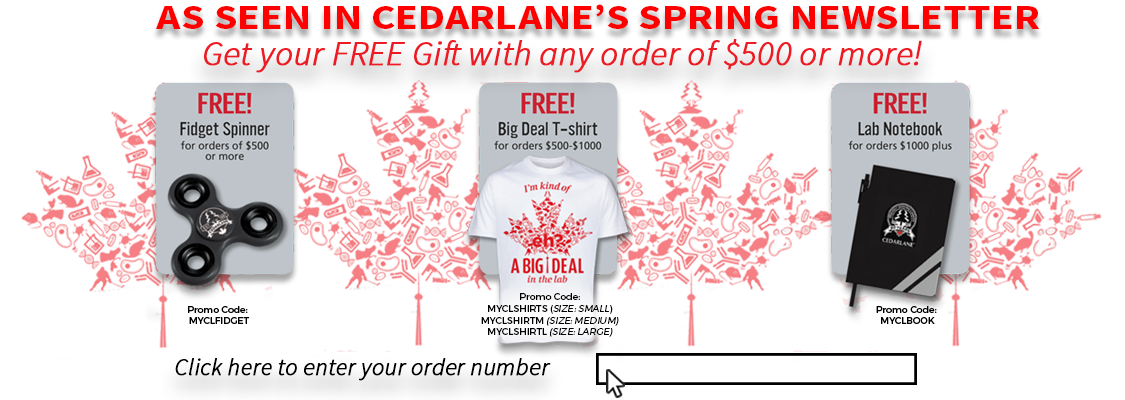 Cedarlane Exclusive Newsletter Gifts