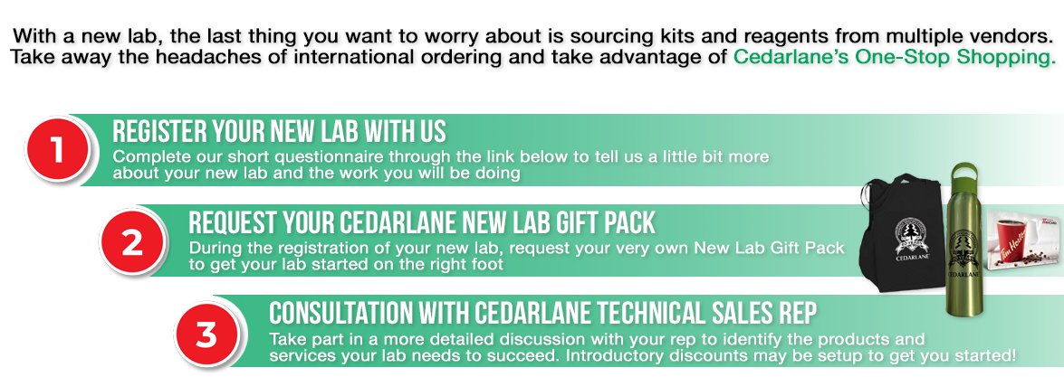 Cedarlane New Lab Program