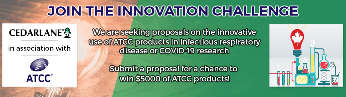 2021 Innovation Challenge by Cedarlane, in association with ATCC