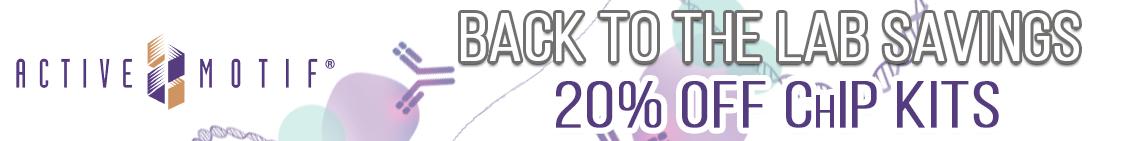 Save 20% on Active Motif Antibodies through Cedarlane