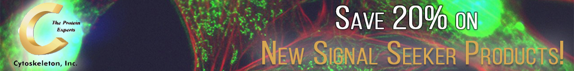 Save on Cytoskeleton Signal-Seeker Products