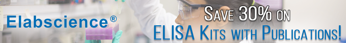 Elabscience Save on ELISA Kits with Published Articles