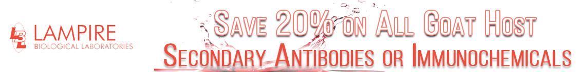 Save on Lampire Secondary Antibodies through Cedarlane
