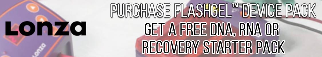 Save on Lonza FlashGel Products through Cedarlane