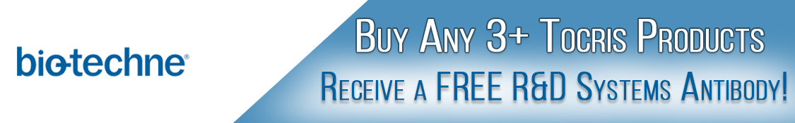 Buy 4 Tocris Bioscience products, receive a free R&D Systems Antibody!