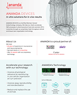 Ananda Devices Company Overview Flyer