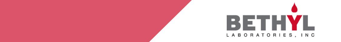 Supplier Detail - Bethyl Laboratories Inc  - Cedarlane