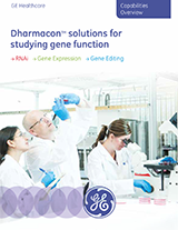 GE Dharmacon Solutions for Studying Gene Function Brochure