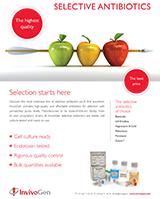 InvivoGen Selective Antibiotics Brochure