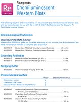 LI-COR Chemiluminescent Western Blot Pricelist