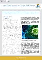 OZ Biosciences Lentiviral Transduction Application Note