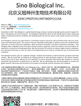 Sino Biological Product Catalogue
