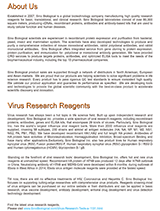 Sino Biological Virus Research Catalogue