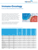 Tonbo Biosciences Immuno-oncology Kits Flyer