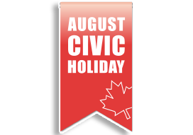 Cedarlane Civic Holiday, August 2020
