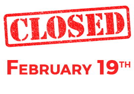 Cedarlane is closed February 19 for Family Day