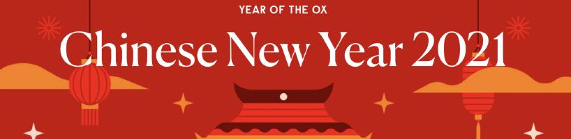 Cedarlane Chinese New Year Notice, January 2021