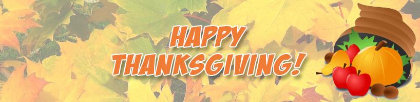 Happy Thanksgiving from Cedarlane, October 2020